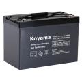 Tiefe Zyklus-Gel-Batterie 12V 90ah für Freizeitfahrzeug / RV