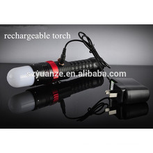 rechargeable battery for led light, flashlights and torches, most powerful led flashlight torch
