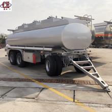 Aluminum 3Axle Dolly Oil Tank Semi Trailer