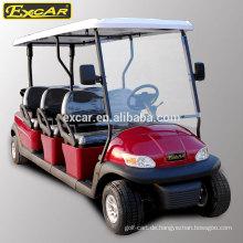 Elektrischer Kraftstofftyp und 48V Batteriespannung billiger elektrischer Golfbuggy