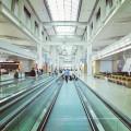 Движущийся тротуар на метро/ Авиапорта
