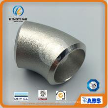 Cotovelo sem emenda de aço inoxidável dos encaixes de tubulação do ASME B16.9 Ss (KT0386)