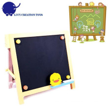 Enfants Home Wooden Small Black Magnet Chalk board
