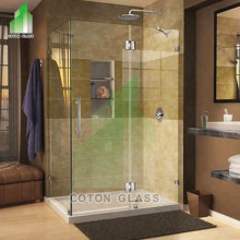 Frameless Sliding Glass Shower Doors