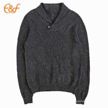 Вязаная Зимняя обычай Мужской шерсти шаль свитер