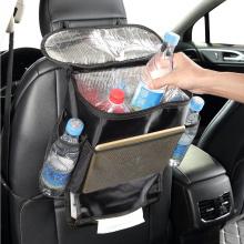 Universal car hanging storage bag with ice bag