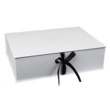 White Cardboard Rigid Gift Box