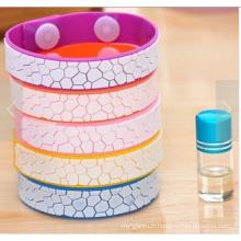 Bracelet Anti Mosquito avec Huile de Citronnelle Bouteille