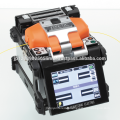 Wireless LAN enabled durable optical fiber Fusion Splicer with flexible clamps