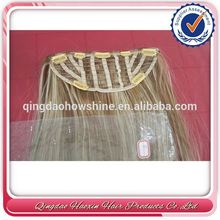 Alibaba Supplier Natural Looking High Quality Remy Half Wig