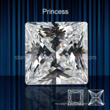 Zirconia cúbica forma cuadrada de la forma cuadrada de la joyería de la manera para la joyería