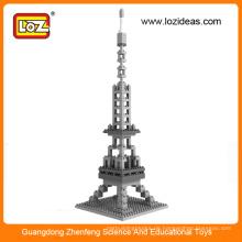 Eiffelturm weltberühmte Architektur Kubische Spaß 3d Puzzle
