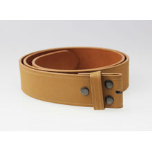 Light brown snap on leather strap
