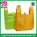 Colorful Customized Supermarket Biodegradable LDPE/HDPE T-shirt Vest Plastic Bag