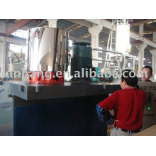 High speed heating mixer