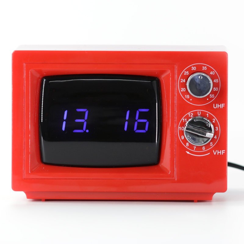 TV Alarm Table Clock