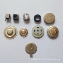 Partie d'estampage de dessin en métal haute précision personnalisée