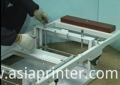 Manual Cylindrical Screen Printer For Wedding Card