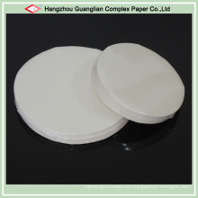2 / S Papel de hornear precortado tratado con silicona