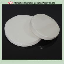 Papel de pergaminho tratado à prova de gordura de silicone no tamanho do OEM