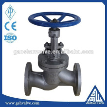din standard ductile iron globe valve for steam