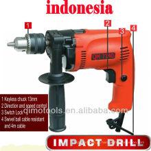 Broca de impacto no mercado indonésia