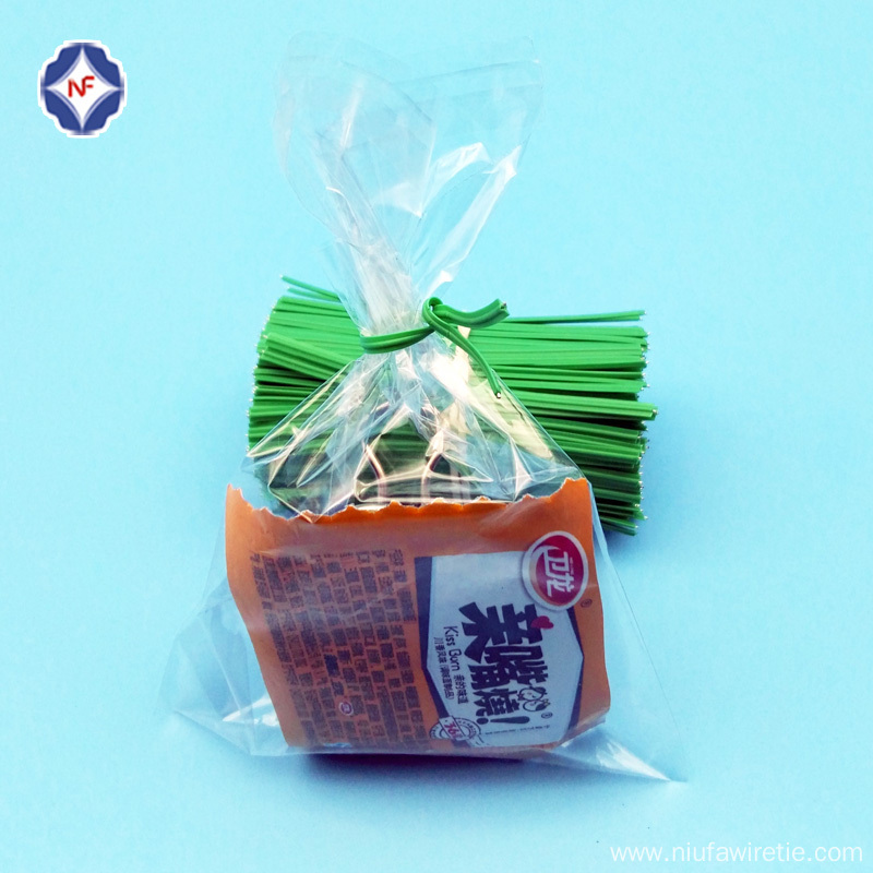 Single Wire Twist Tie for Snack Bag