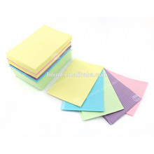 "Colorido 2plyPaper 1plyPE desechable 13 ""x18"" Dental paciente babero"
