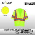 Ansi / isea 107-2010 reflektierende Weste reflektierende Sicherheitsweste hohe Sichtbarkeit Sicherheitsweste Verkehr Arbeitskleidung 3m reflektierende Weste