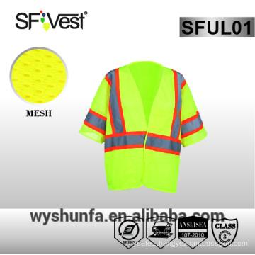 ansi/isea 107-2010 reflective vest reflective safety vest high visibility safety vest traffic workwear 3m reflective vest