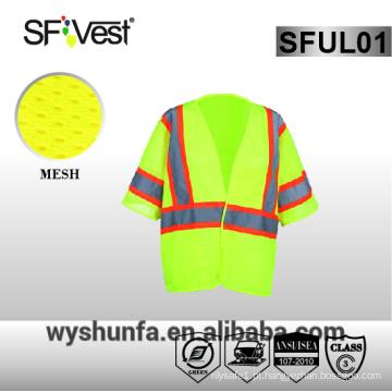 Ansi / isea 107-2010 colete reflexivo colete de segurança reflexiva alta visibilidade colete de segurança colete de trabalho 3m colete reflexivo