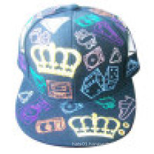 Floral Fabric Fitted Baseball Cap (NE030)