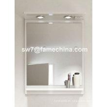 2012 simple y naturalista espejo pintado con luces