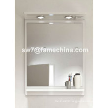 2012 simple and naturalistic painted mirror cabinet with lights