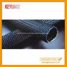 Mangas retiformes trançadas em nylon multifilamento