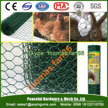 ПВХ сетчатая сетка для птицы / куриная сетка / шестиугольная сетка