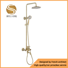 New Design Golden Shower Faucets (ICD-7504)
