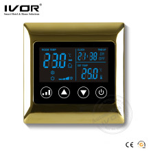 Ivor Touch Screen HVAC System Thermostat programmable pour salle Sk-AC2000L8