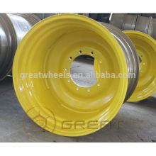 Utilitaire pneus agricoles jantes, 15.3x9.00 roues agricoles à haute résistance