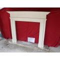 New Design Limestone Fireplace