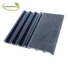 High Strength & Low Expansion Solid WPC Decking with Grey Color
