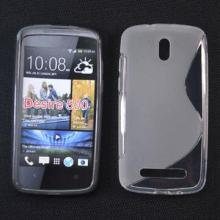 TPU case for HTC desire 500 water sets, various colors available