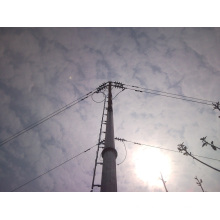 Asian Galvanized Utility Electricity Power Transmission Steel Pole