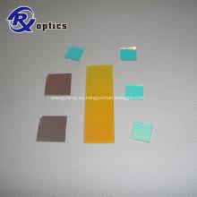 Filtro de vidrio cortado UV / IR