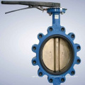 Pneumatic Actuator Metal Seat Flange Butterfly Valve (Precision Casting)
