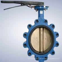 Atuador Pneumático Metal Seat Flange Válvula Borboleta (Precision Casting)
