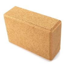 Yugland Wholesale Natural Non Toxic Gym  High Density Cork Yoga Block for Exercise