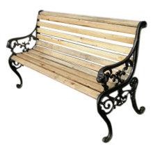 Cast Metal Waterproof Patio Bench Seat Outdoor Furniture Garden Benches