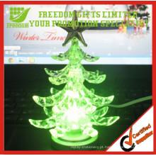 Presentes da promoção Árvore de Natal do diodo emissor de luz do RGB do USB