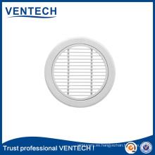 Parrilla de aire lineal redonda Ventech de alta calidad para uso de ventilación